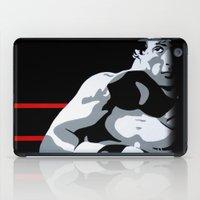 rocky iPad Cases featuring Rocky by iankingart