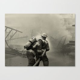 Fire Fighters Canvas Print