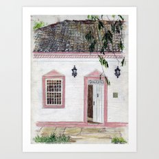House in Pirenópolis Art Print