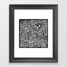Detached Retina Framed Art Print