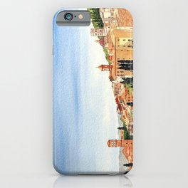 Assisi Italy with Basilica Of San Francesco iPhone Case