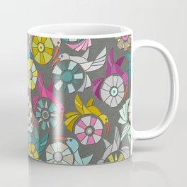 paper sunbirds graphite Coffee Mug