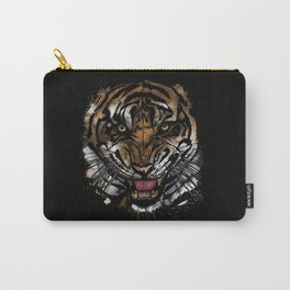 Tiger Face (Signature Design) Carry-All Pouch