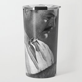 Ernest Hemingway Travel Mug