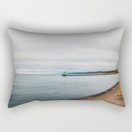 Artist Point Trail, Grand Marais, Minnesota 8 Rectangular Pillow