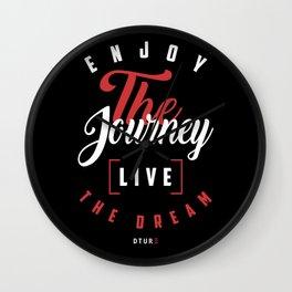 Motivational | Live the Dream Wall Clock
