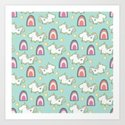 Cereal for Dinner - Unicorns by jacquelyncarterdesigns