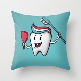Fresh & Clean Throw Pillow