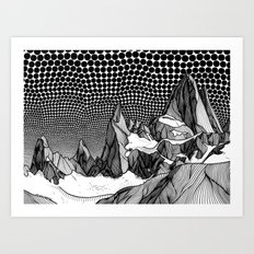 Fitz Roy Art Print