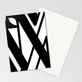Hidden Letters. Baskerville M Stationery Cards