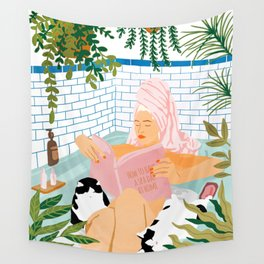 How To Have A Cat Spa Day At Home Wall Tapestry