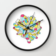 Gem and Mineral Dream Wall Clock
