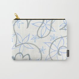 graffiti flowers : lavender Carry-All Pouch