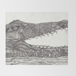 Smile Throw Blanket