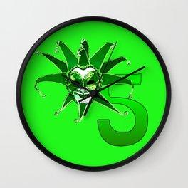 Joker No.5 Wall Clock