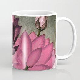 Mauve Pink Sacred Egyptian Bean Temple of Flora Coffee Mug