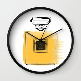 Orange perfume #4 Wall Clock