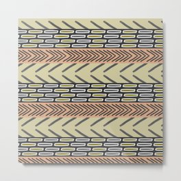 Bricks and sticks Metal Print