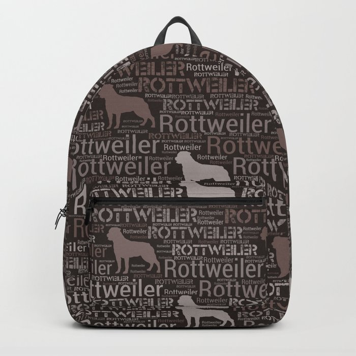 Rottweiler  - Metzgerhund Pattern Rucksack