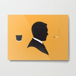 MAD MEN / DON DRAPER Metal Print
