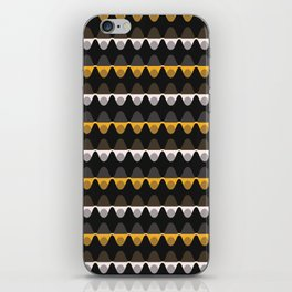 1960s Style Dot Stripe iPhone Skin