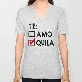 Te Amo Quila Unisex V-Neck