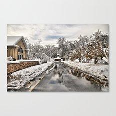 An Unexpected Snowfall Canvas Print