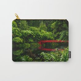 Red Bridge in the Park Carry-All Pouch