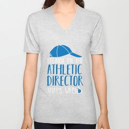 Sports Coach Athlete Director Gift Unisex V-Neck