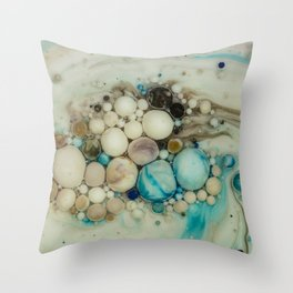 Bubbles-Art - Ananke Throw Pillow