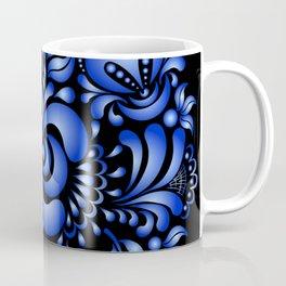 Gzhel black pattern Coffee Mug