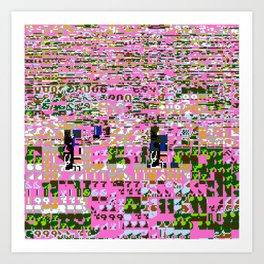 00004 Art Print