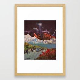 Interstellar Highway Framed Art Print