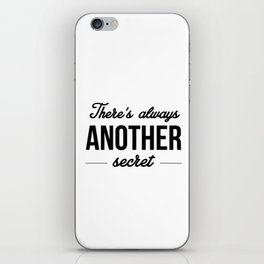 Another Secret iPhone Skin