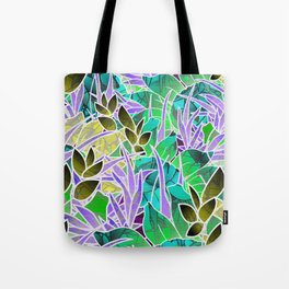 Floral Abstract Artwork G127 Tote Bag