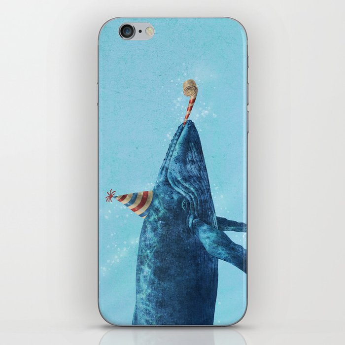 Party Whale  iPhone Skin