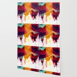 Forest explosion of color Wallpaper