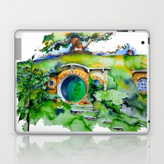 hobbit hole Laptop & iPad Skin