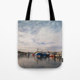 Irish landscape in Howth Tote Bag