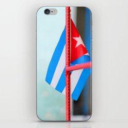 132. Cuban Flag, Cuba iPhone Skin