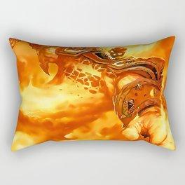 Ragnaros the Firelord Rectangular Pillow