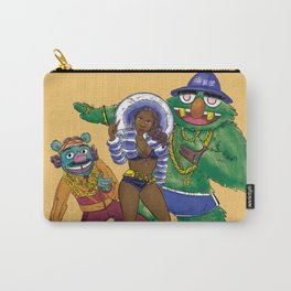 Foxy Brown & the color Brown Carry-All Pouch