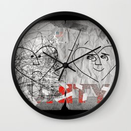 """A page from """"The Book of Unity"""". Wall Clock"""