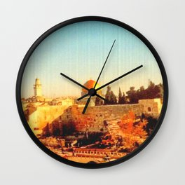 Old City of Jerusalem, 2004 Wall Clock