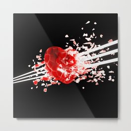 Unstable Love Metal Print