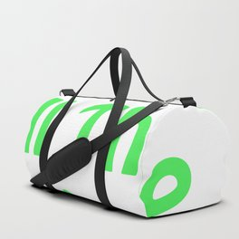 Sew All the Things in Green Duffle Bag