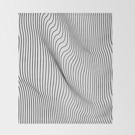 Minimal Curves Throw Blanket