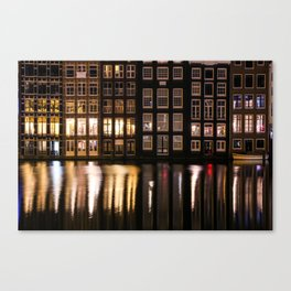 Amsterdam houses 2. Canvas Print
