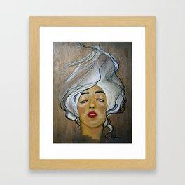 Silent Violence  Framed Art Print