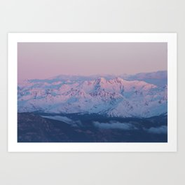 Perfect sunrise in South Tyrol - Landscape and Nature Photography Art Print